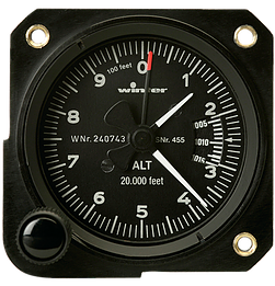 Winter Altimeter 57mm