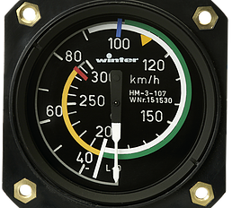 Winter Air Speed Indicator 57mm