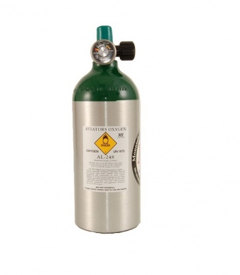 248L Aluminium oxygen bottle