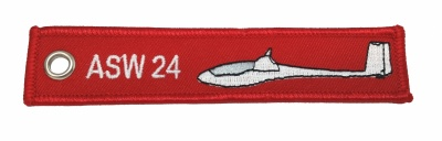 ASW 24/ Remove Before Flight - Keyring