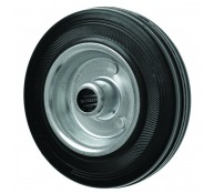 200mm Airless Puncture Free Tow Out Wheel - 20mm bore