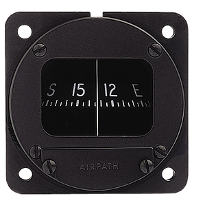 Airpath C 2300 Panel Mount Compass 57mm