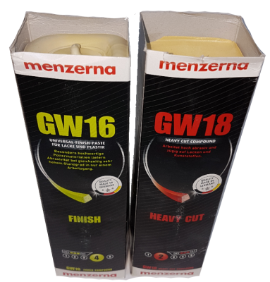 Hard Wax - Menzerna Polishing Compound - Select Type