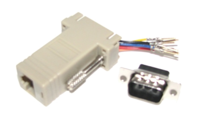RJ45 DB9 Adapter Male