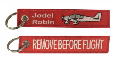 Jodel Robin / Remove Before Flight - Keyring