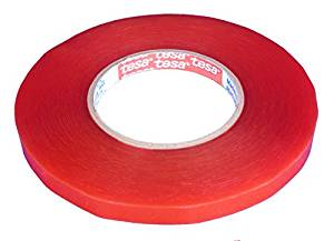 TESA Double Sided Tape 50m Roll - Select Tape Width