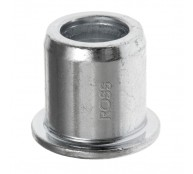 Top Hat' Wheel Bore Reducer from 20mm to 12mm