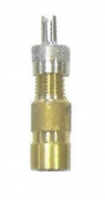 1: Straight 24mm, Short Thread, Cap with Key Valve Extension