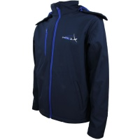Softshell Hooded Jacket - Navy