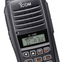 Icom IC-A16E 8.33/25 KHz Ground to Air support Radio