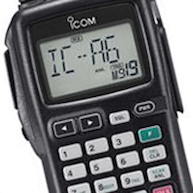Icom IC-A6E Pro Pack 833 Hand Held Radio Kit