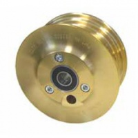 3.5'' Max II Brass Tailwheel - for 200x50 tyres