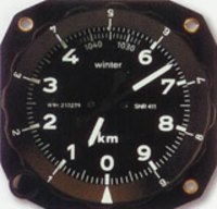 Factory Refurbished - Winter METRIC Altimeter 80mm inc. Form 1