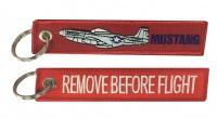 Mustang / Remove Before Flight - Keyring