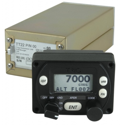 Trig TT21 - Mode S Transponder for light aviation Class 2